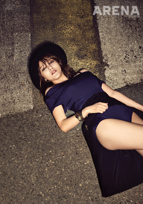 Jimin AOA Ace of Angels - Arena Homme Plus Magazine May Issue 2015