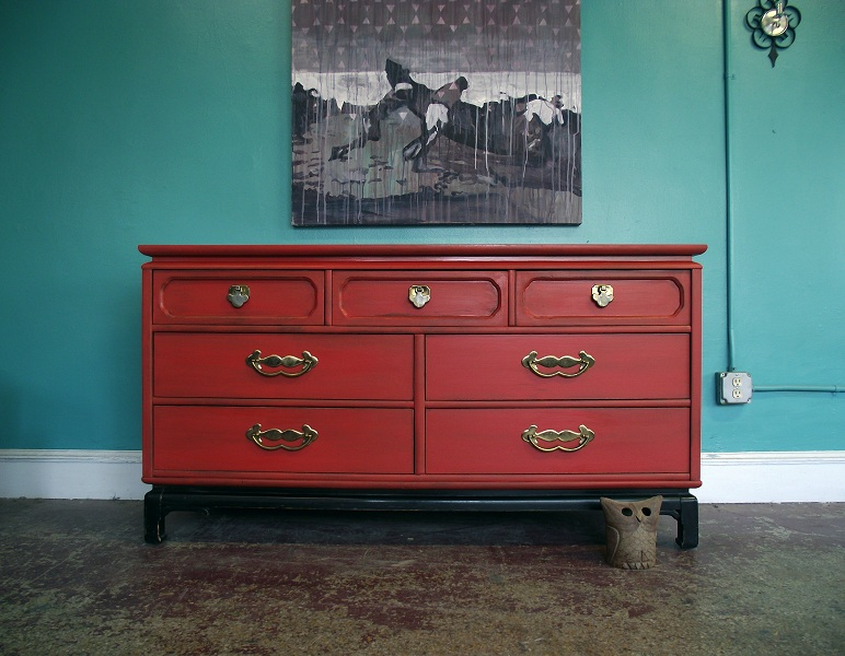 red distressed furniture vintage red distressed seven