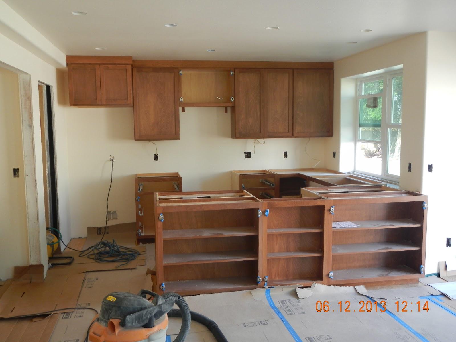 Kitchen Base CabiInstallation