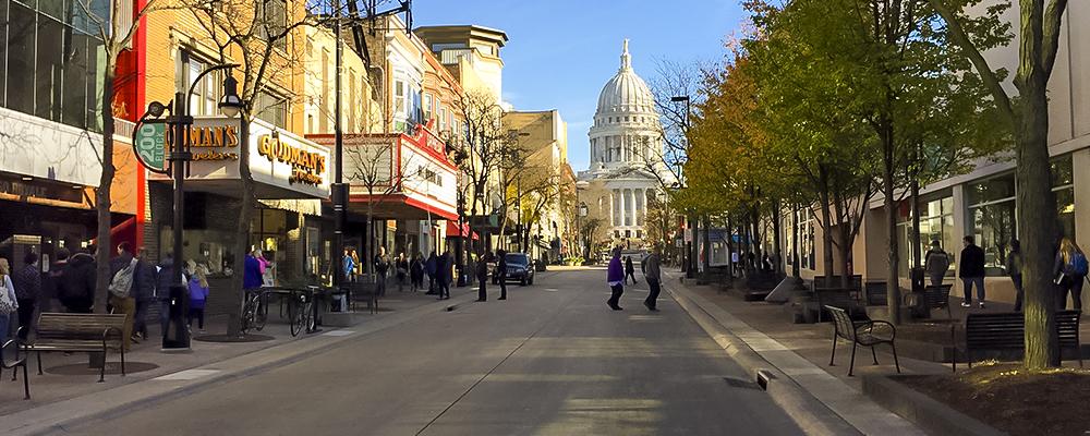 Restaurants Madison Wisconsin Monroe Street