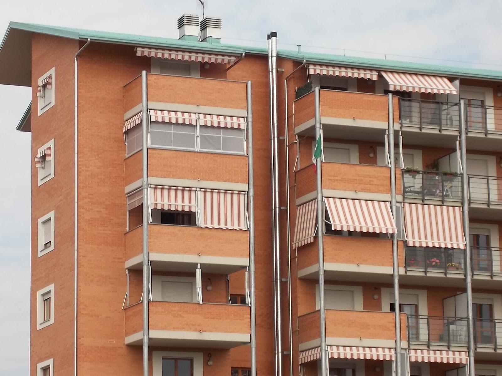 Tende Veranda Torino : Tende da sole a torino m f forniture condominiali