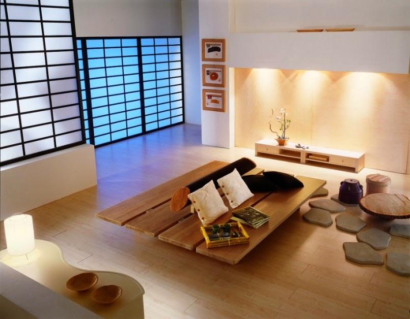 gambar interior rumah minimalis ala jepang