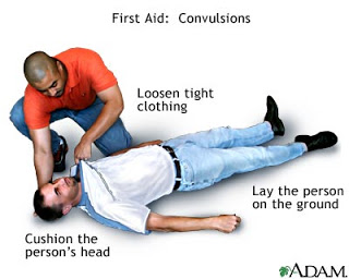 First aid for heart attack victim