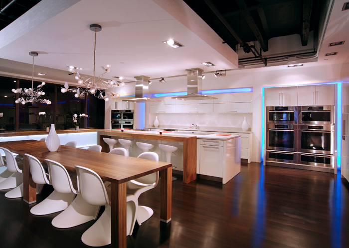 Demonstration Kitchen Layout nesttamara: miele cooks me dinner during the architectural