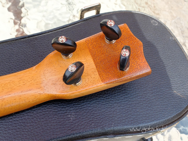 Wunderkammer Ike Soprano ukulele tuners