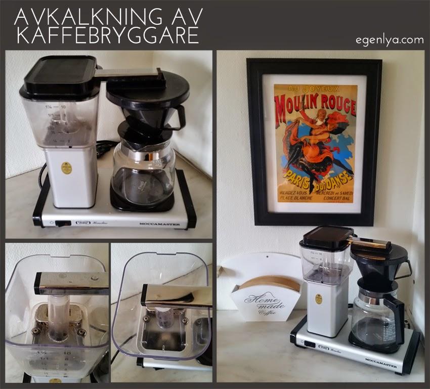 avkalkning av kaffebryggare