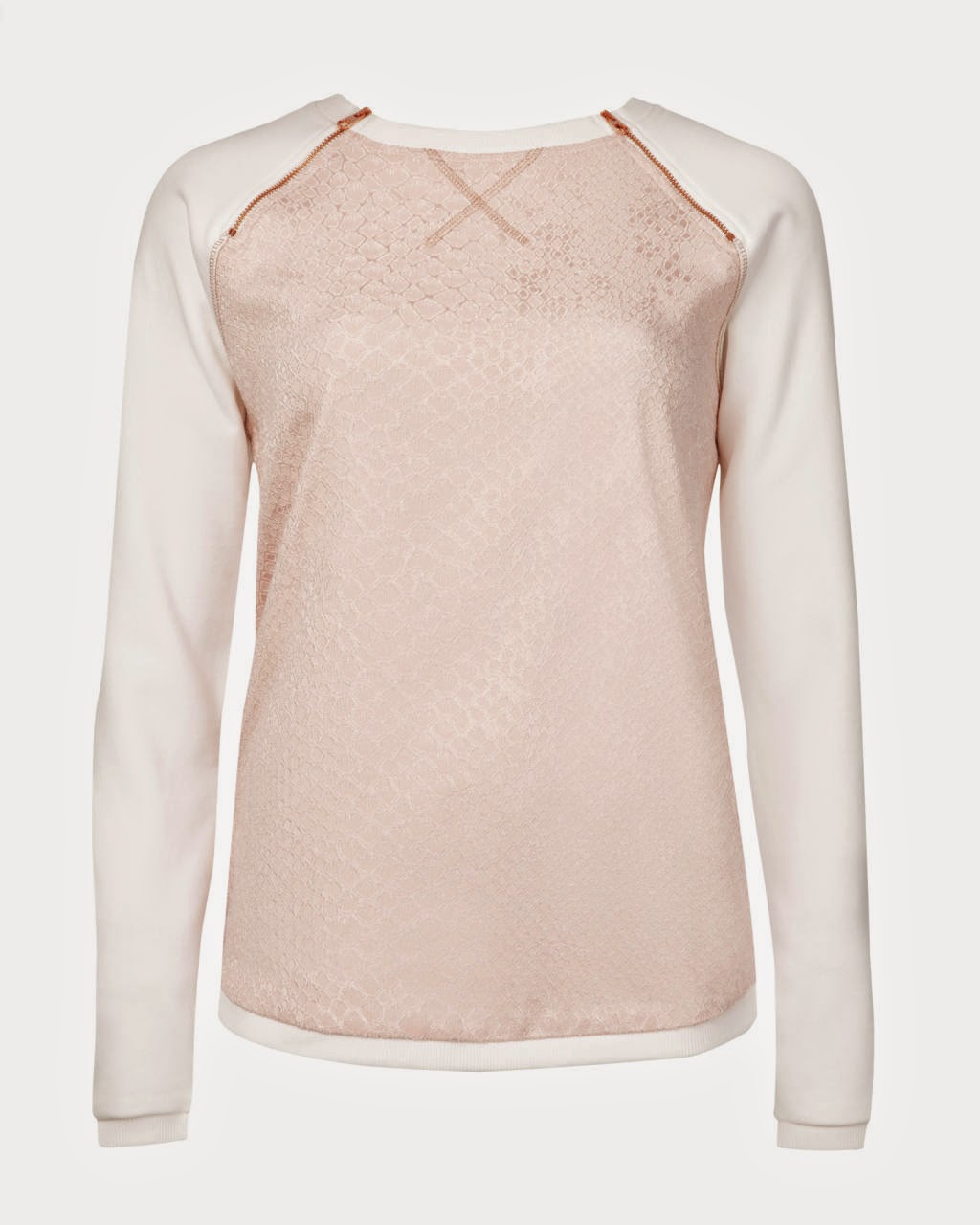 ted baker white sleeve jumper