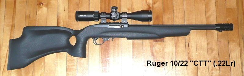 Armes à air et carabines .22lr de Picanox Ruger-CTT