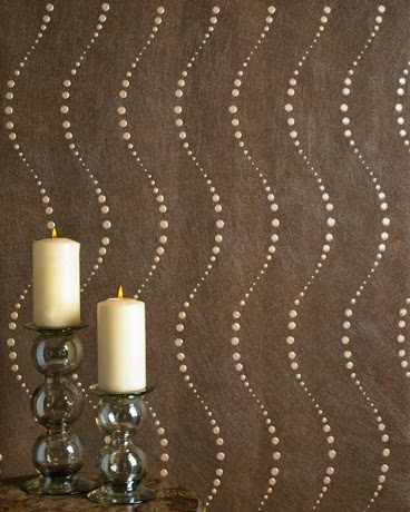 Candles Circle Dance Wall covering