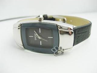 jam tangan kulit wanita merek dkny 2836 bentuk kecil harga murah dan grosir