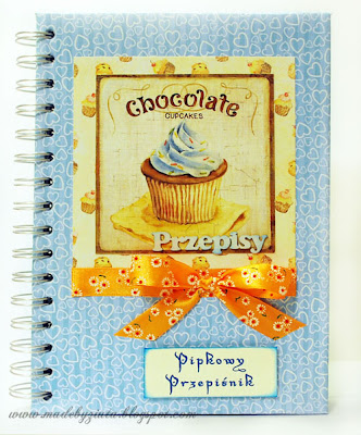 Przepiśnik notes kulinarny zeszyt na przepisy kartki okolicznościowe barbara wójcik