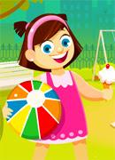 Детский парк - Онлайн игра для девочек
