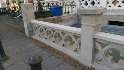 Balustrade Stuckateur Stuck Altbau Belz Bonn