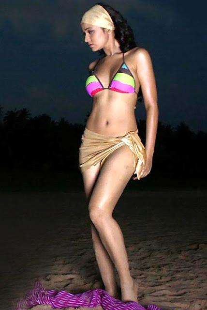 Nisha Kothari Hot Bikini