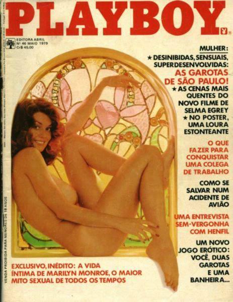 Confira as fotos das garotas de São Paulo, capa da Playboy de maio de 1979!