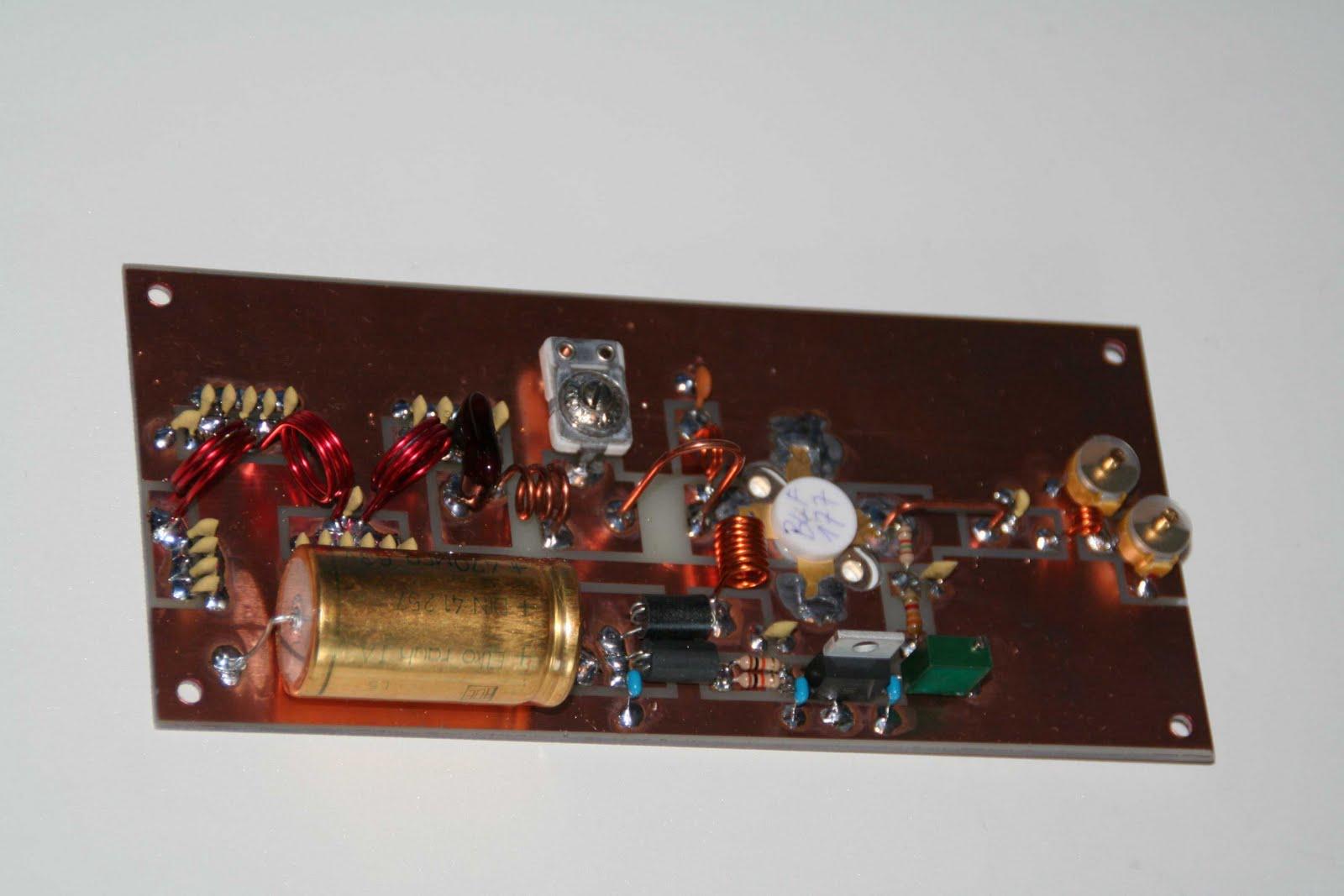 skema Amplifier fm 150-Watt (BLF177)