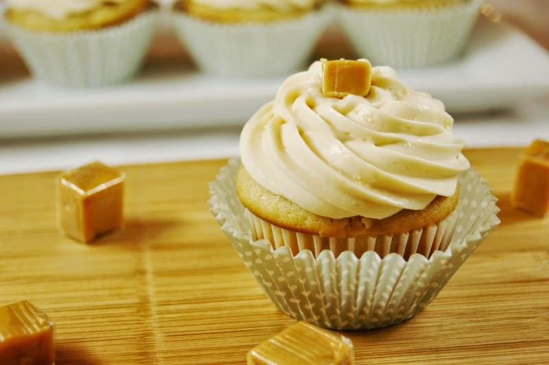 ... Playground: Salted Caramel Cupcakes with Caramel Buttercream Frosting