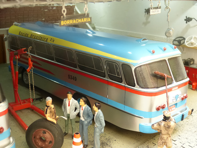 Miniaturas do ônibus Cermava 2ª edição 2013
