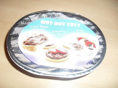 Philadelphia chocolate spread lid