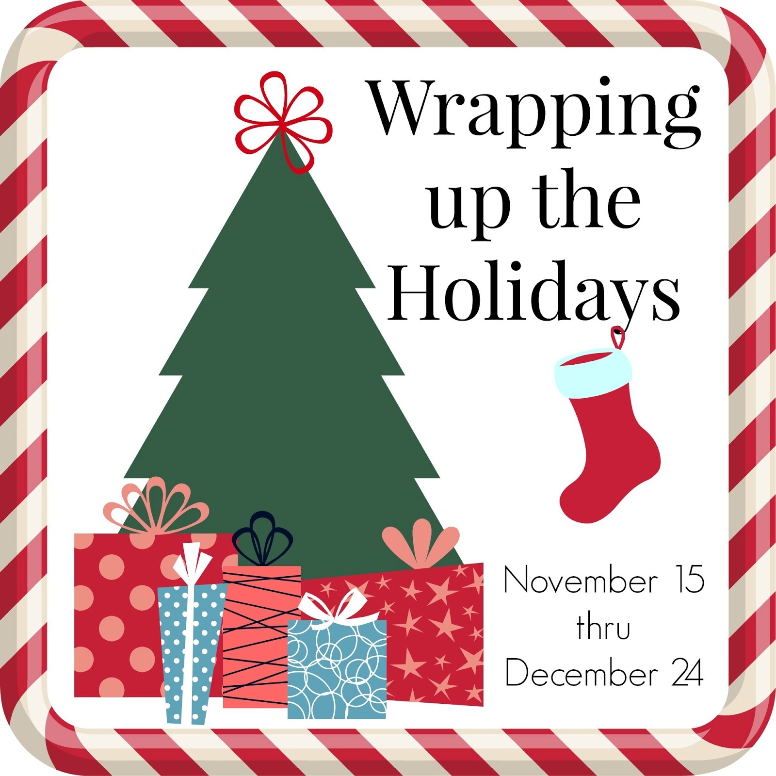 Wrapping Up the Holidays Linky Party!!