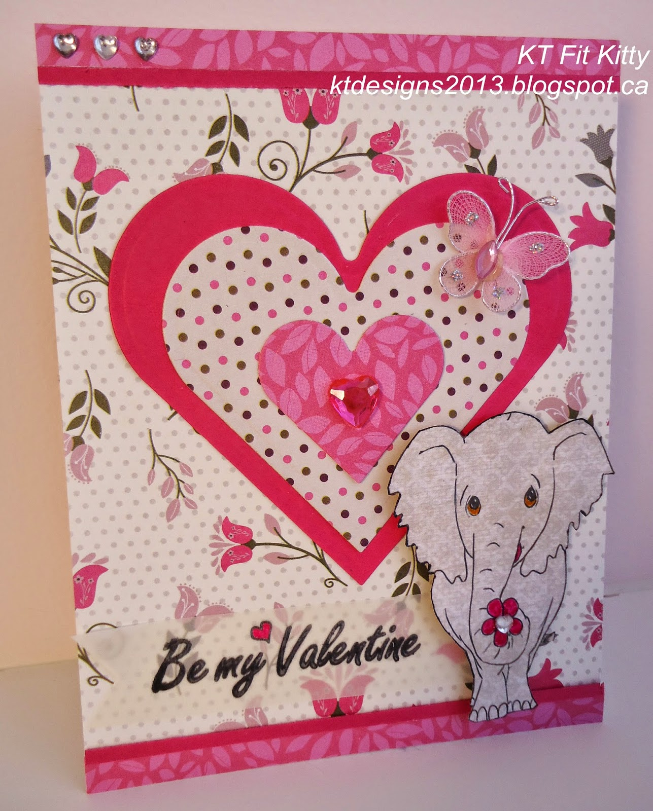 The Sentiment Is A Wood Mounted Stamp From Anitas And I Stamped It On Vellum Coloured Heart Hand Cut Into Banner