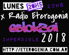 LUNES 20HS X ETEROGENIA RADIO DESDE EL CCEC... ESLOK3AI 2018 ;)7