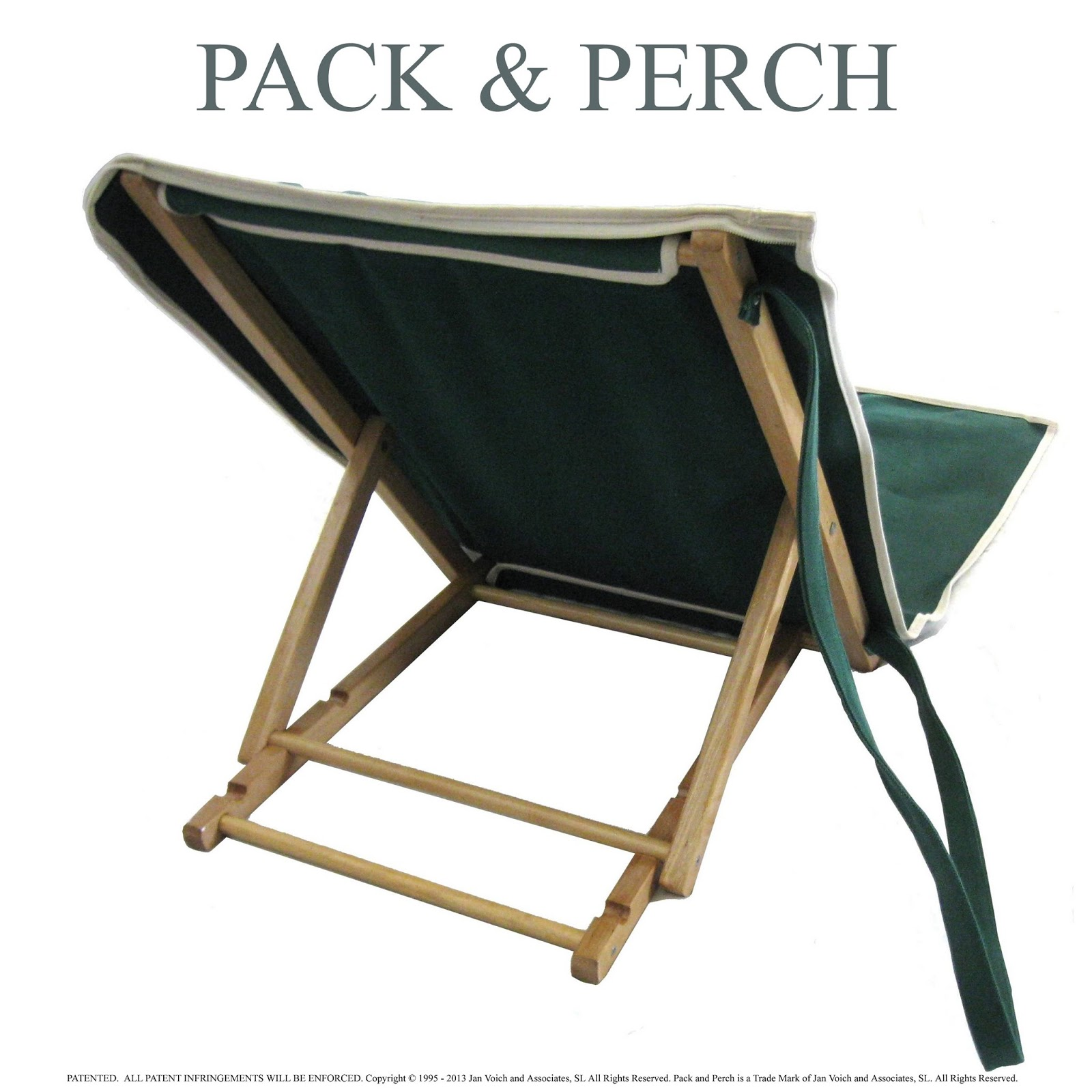 Beach chair back - Canvas Beach Backrest