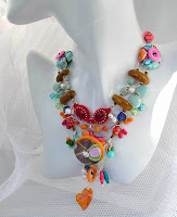 """DEVOTED GYPSY"" NECKLACE - COLOR FANTASY III"