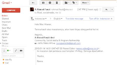 email balasan