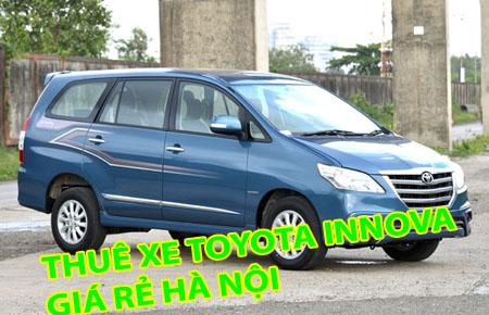 cho thuê xe giá rẻ toyota innova 2015