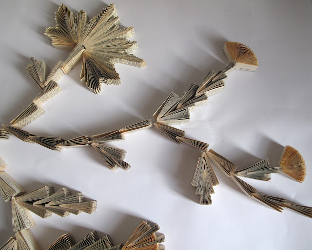 Paper Flower vine by Keri Muller (simpleintrigue.com)