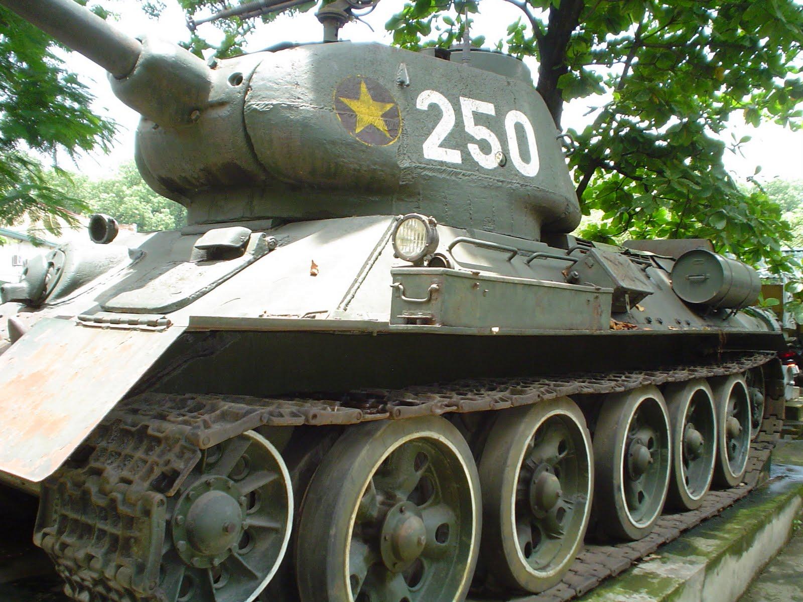 Vietnam war tank