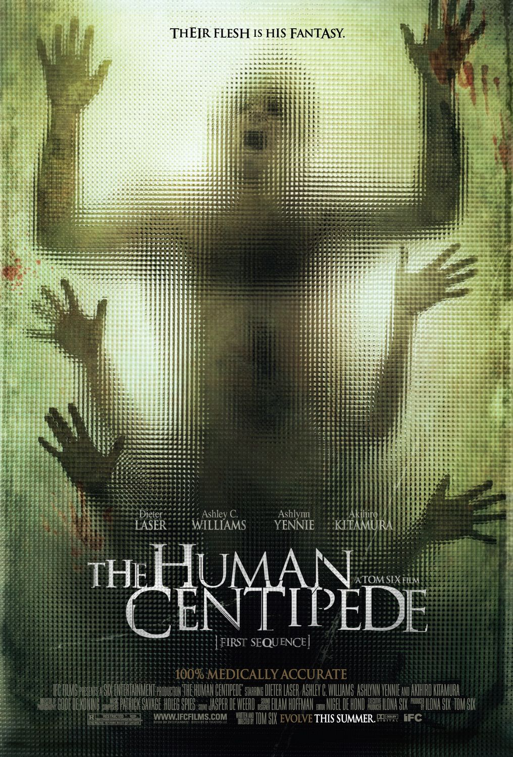 The Human Centipede  Un cienpies humanoHuman Centipede Movie Poster