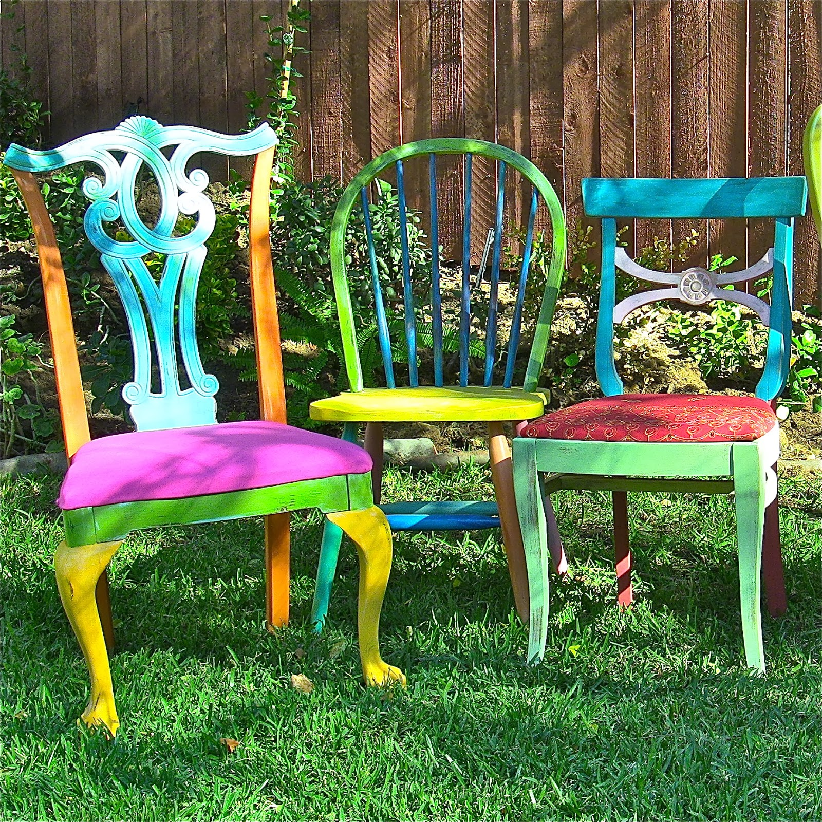 $5 Boho Thrift Store Chairs DIY