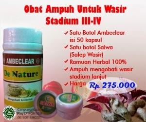 Obat wasir herbal untuk wasir dan ambeien stadium 4
