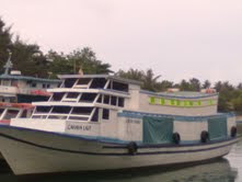 Transportasi pulau tidung