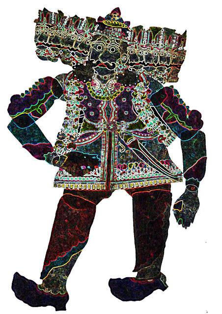 ravana depiction