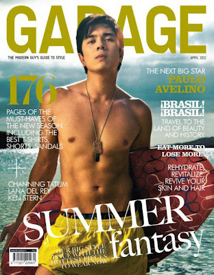 Paulo Avelino shirtless Garage cover