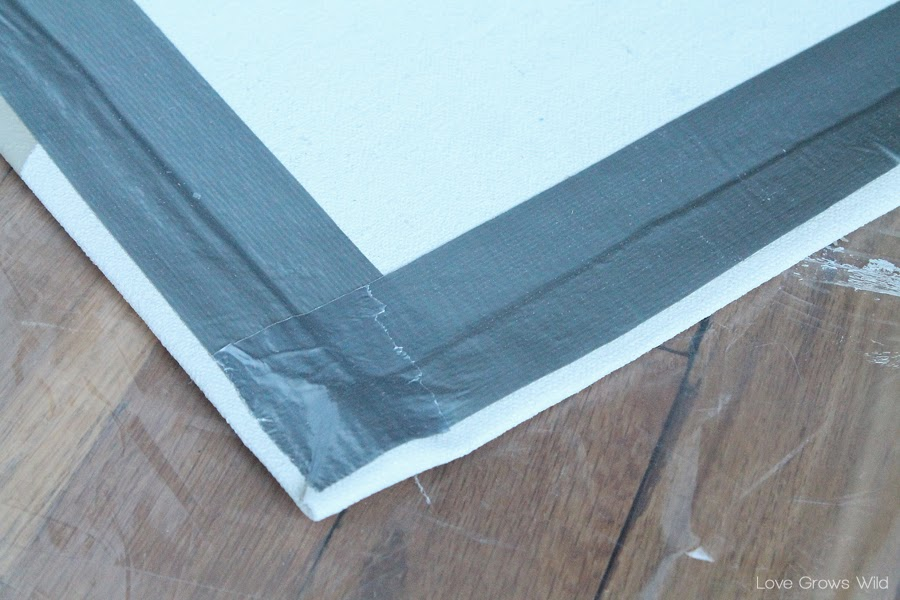 How To Make A Rug From A Drop Cloth Love Grows Wild