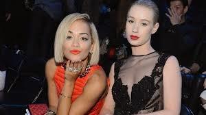 Iggy Azalea e Rita Ora fazem parceria em Black Widow