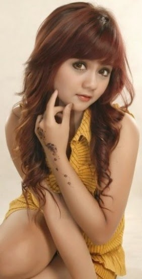 Foto Model Rambut Wig Asli