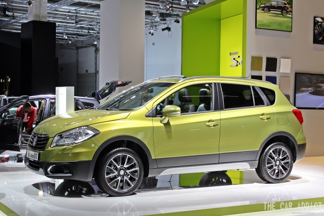 Suzuki SX4 S-Cross at Frankfurt Motor Show