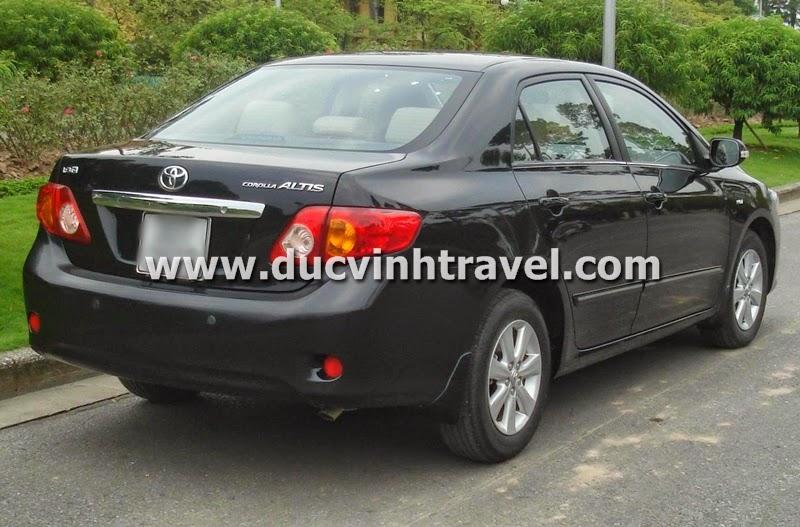 Cho thuê xe cưới Toyota Altis giá rẻ 1