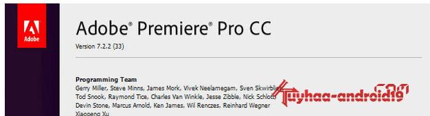 Permalink to Adobe Premiere Pro CC 7.2.2 Build 33 Final