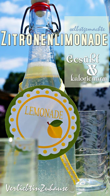 Zitronenlimonade -easy peasy Rezept aus Löwenzahn