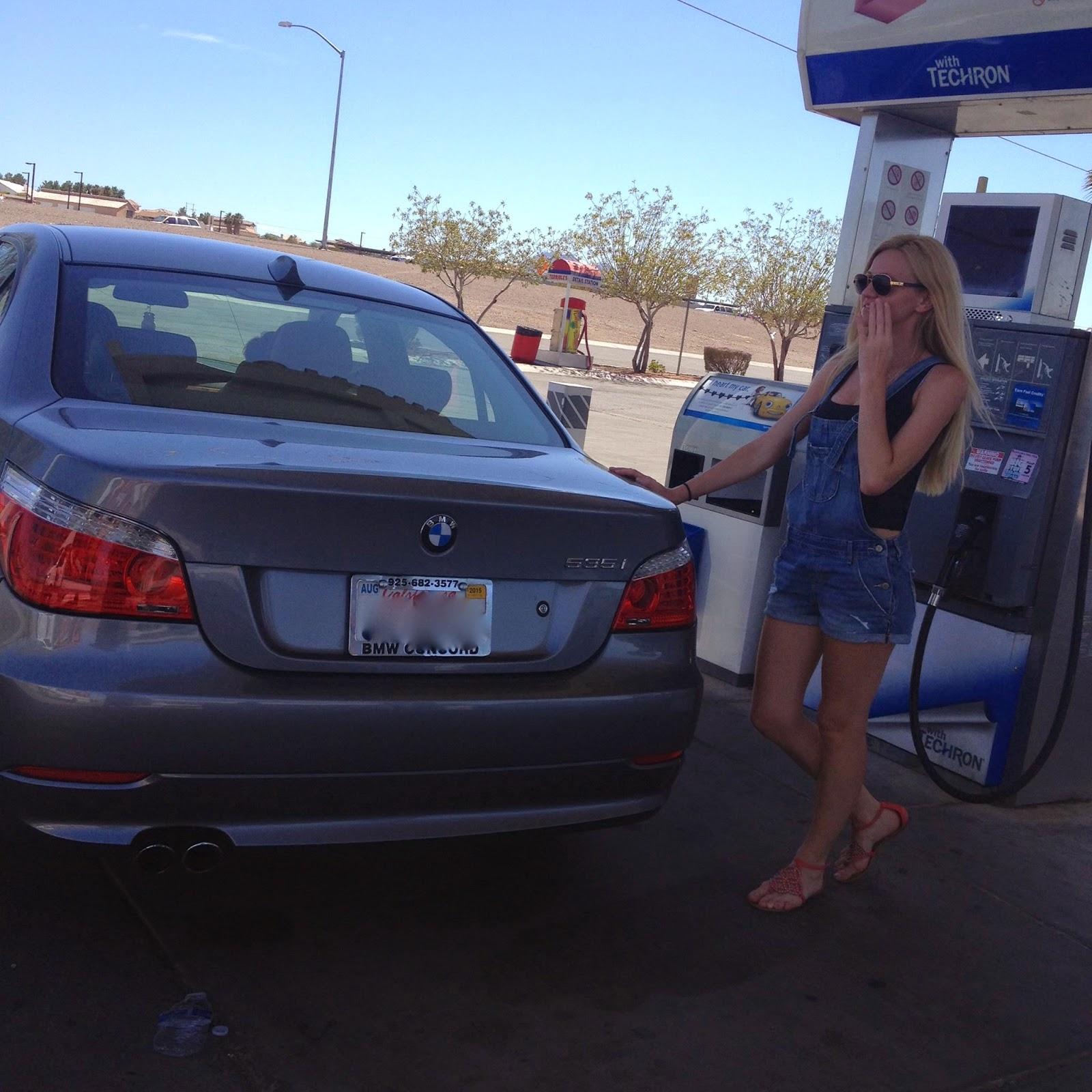 Pebble Beach: BMW 535i- Engine Malfunction