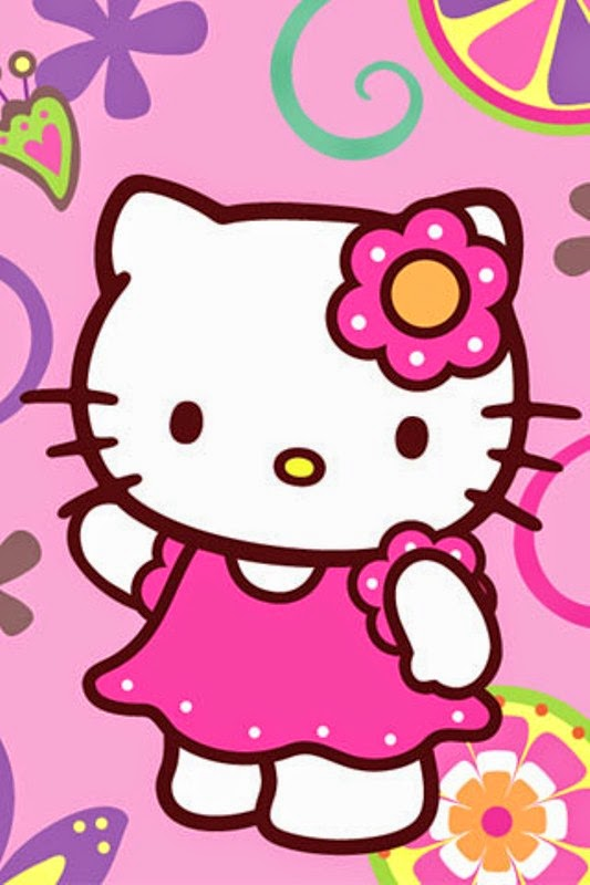 Group Of Gambar Hello Kitty Pink