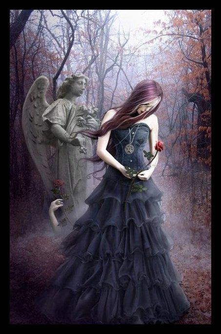 femme gothique image