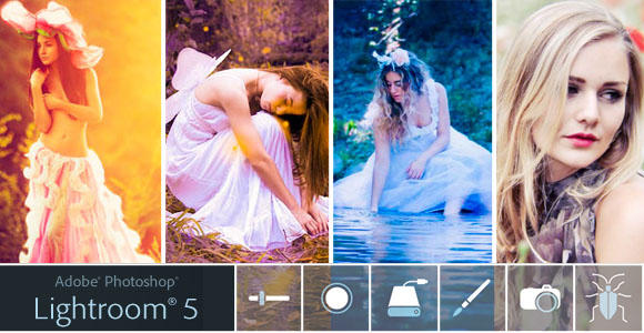 Adobe Photoshop Lightroom 5 මෘදුකාංගය