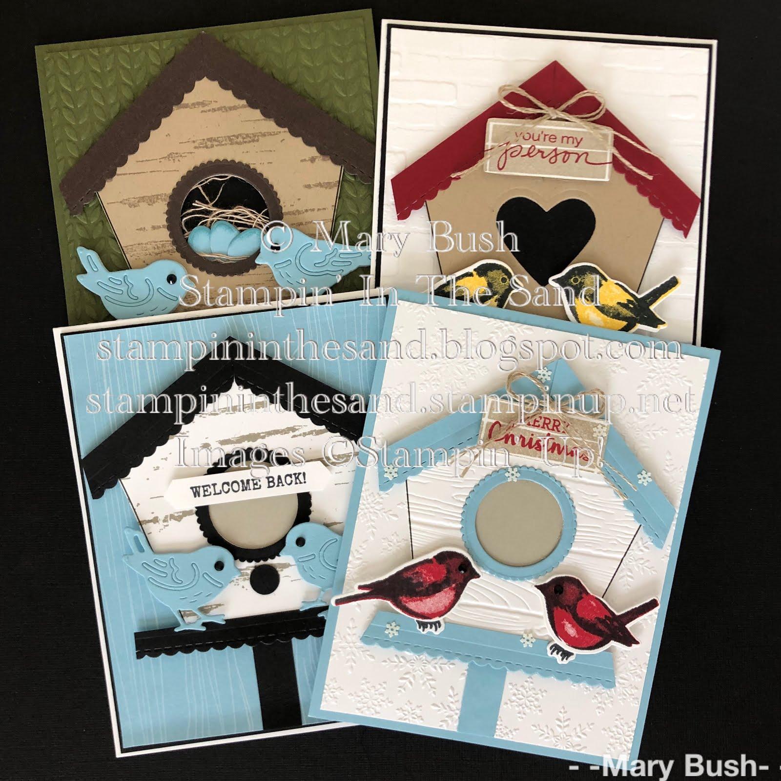 Home For The Birds Class To Go/Birdhouse Template